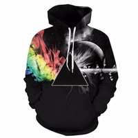 Dark Side Of The Moon Trippy Hoodie