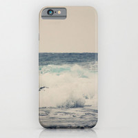 iPhone 6 case phone Ocean Blue art photography iPhone 3g 3gs 4 4s 5s 5c 6 6 plus iPod touch Samsung Galaxy S4 S5 Nautical sea water tan wave