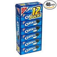 Oreo Chocolate Sandwich Cookies, 2-Ounce Packages (Pack of 48)