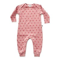 Organic Cherry Jumpsuit - 6m