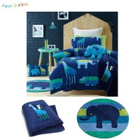 Animal Patch Quilt Cover Set or Accessories by Jiggle & Giggle