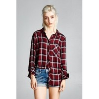 Out of the Woods Button Up