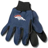 Denver Broncos NFL Two Tone Gloves