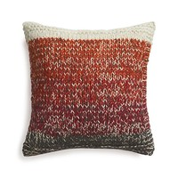 Arlo Red Pillow with Down-Alternative Insert.
