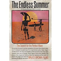 Bruce Brown Endless Summer Surf Film Wood Sign