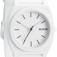 Nixon Time Teller P Matte White Watch