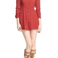 Free People 'This Town' Polka Dot Shirtdress | Nordstrom