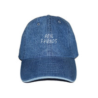"Real Friends - Light Denim ""Dad"" Cap"