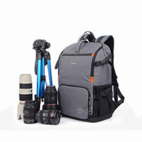 """DSLR Camera Photo Backpack Padding Divider Insert with 15"""" Laptop Pack Travel Bag for Canon 5D 7D 600D Nikon D7200 Sony a6000 37"""