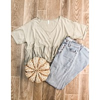 Olive Fall Top