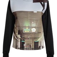 GUNS GERMS $TEAL | Unisex: Printed Neoprene Sweatshirt | Browns fashion & designer clothes & clothing