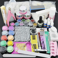 PREMIER ACRYLIC Nail Art SET FULL POWDER LIQUID TIP 999