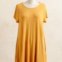 Bright And Early Trapeze Dress