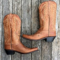 OLD WEST KID BOOTS TAN