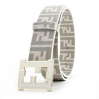 NEW FENDI LEATHER BELT MEN WOMEN BELTS