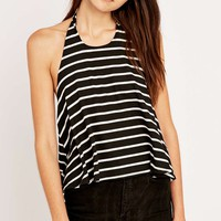Urban Outfitters Stripe Tie Back Halter - Urban Outfitters