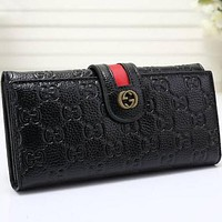 Perfect Gucci Women Leather Purse Wallet