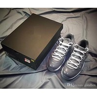Air Jordan 11 Low Cool Grey 11s Carbon Fiber with box Basketball Shoes Men and Women