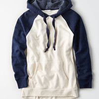 AE Ahhmazingly Soft Colorblock Hoodie, Navy