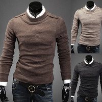 Mens Trendy Casual Sweater