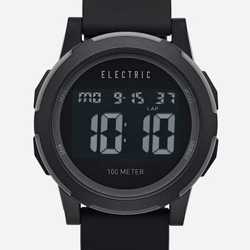 Electric Prime Silicone Watch Black One Size For Men 27158310001