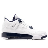 Air Jordan 4 Retro BG 'Legend Blue' GS