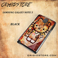Obey Hello Kitty For Samsung Galaxy Note 3 Snap On and 3D Case