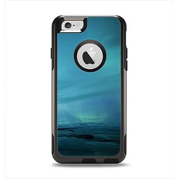 The Teal Northern Lights Apple iPhone 6 Otterbox Commuter Case Skin Set