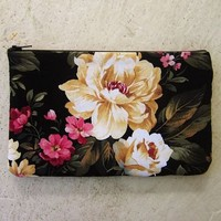 Black Floral Clutch from Love What's Missing