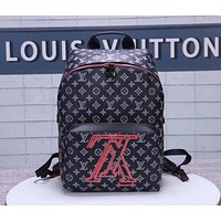 lv louis vuitton shoulder bag lightwight backpack womens mens bag travel bags suitcase getaway travel luggage 62