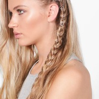 Scarlett Simple Hair Rings 10 Pack | Boohoo