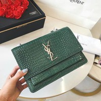 YSL Leather Shoulder Bag Crossbody