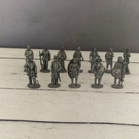 Miniature Pewter Figurines/ Miniature Lead Toys/ Vintage Pewter Toys/ Warriors/ Lead Toys/ Soldiers/ Knights/Role Playing Miniatures