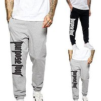 2017 Men Spring PURPOSE TOUR Jogger Pants Sweatpants Justin Bieber Baggy Harem Slacks Trousers