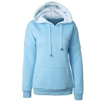 Women's Fashion Hoodies With Pocket Hats [11218590407]