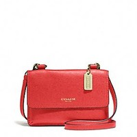 PHONE CROSSBODY IN SAFFIANO LEATHER