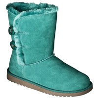 Women's Xhilaration® Kamar Genuine Suede Shearling Style Boots - Assorted Fashion Colors