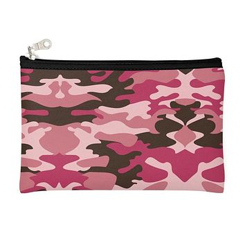Pink Camouflage Pencil Case by The Photo Access
