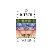 KITSCH - Natural Tie Dye Hair Ties