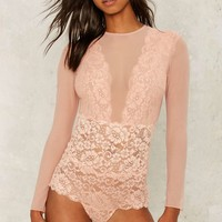 Hot as Hell Jacky B Lace Bodysuit