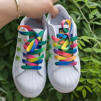 """Adidas"" Fashion Multicolor Flats Sneakers Sport Shoes"