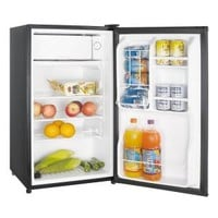 Magic Chef, 3.5 cu. ft. Mini Refrigerator in Stainless Look, ENERGYSTAR, HMBR350SE at The Home Depot - Mobile