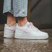 Nike Air Force 1 men's and women's platform sneakers shoes