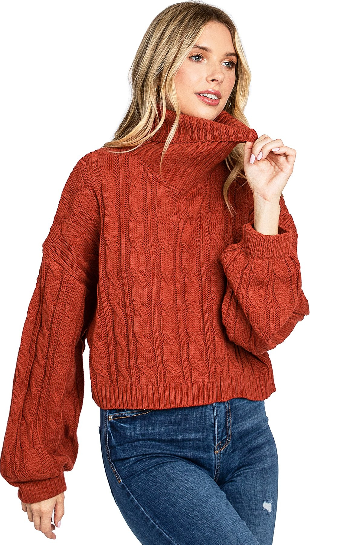 Image of Study Hall Cable Knit
