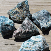 BLUE APATITE Stone - Cools Temper, Speak More Kindly & Balance Throat Chakra