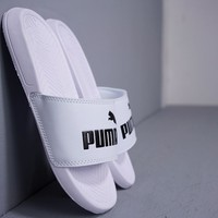 Men's and Women's Puma Leadcat Suede sandals Couple sports slippers