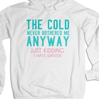 White Hoodie | Funny Frozen Disney Shirts