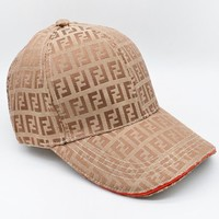 Fendi New fashion more letter print sun protection cap hat