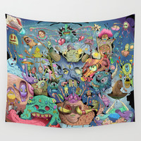 Creature mashup Wall Tapestry by Nogland