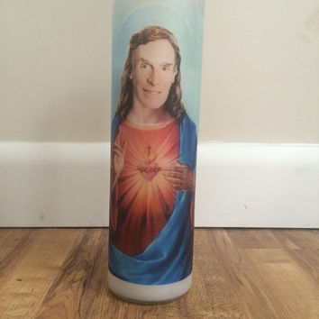 Bill Nye Jesus Prayer Candle
